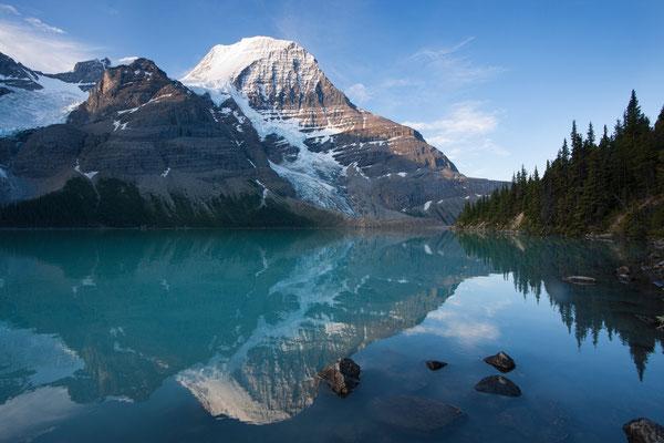 Mt Robson, Berg-Lake, Kanada