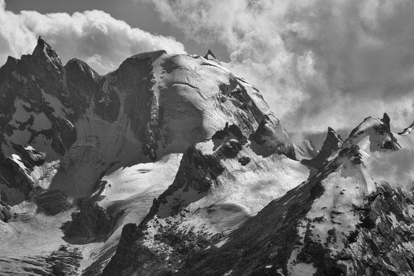 namenlose Berge, Parvati Glacier