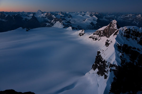 View from Lyell-Peak 3
