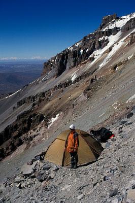 Highcamp Sajama, Bolivien