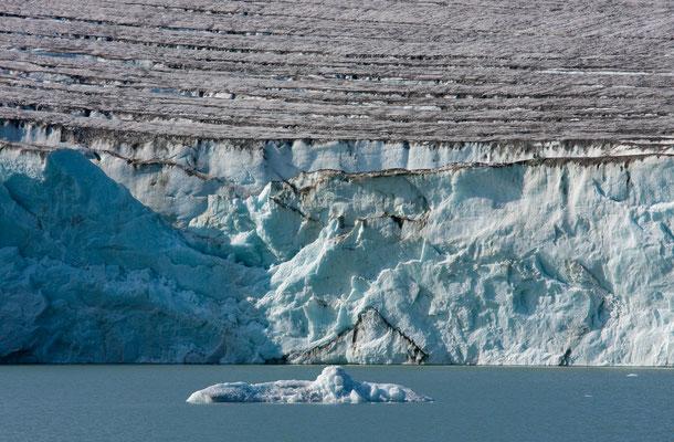 unkartographierter Gletschersee, Nussuaq