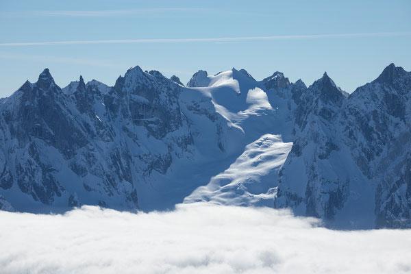 Cima della Bondasca vom Gletscherhorn
