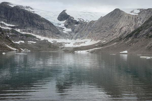 Flatisvatnet mit Svartisen