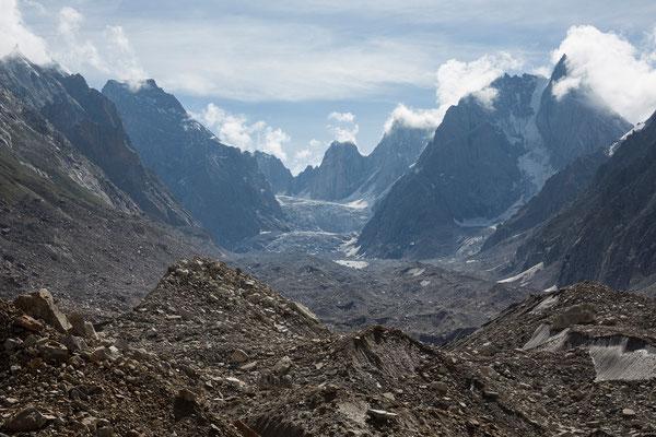 Miyar-Glacier mit Takdung Glacier