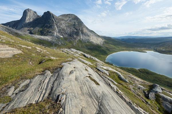 Spisstind und Store Sandvatnet (Lurfjell)