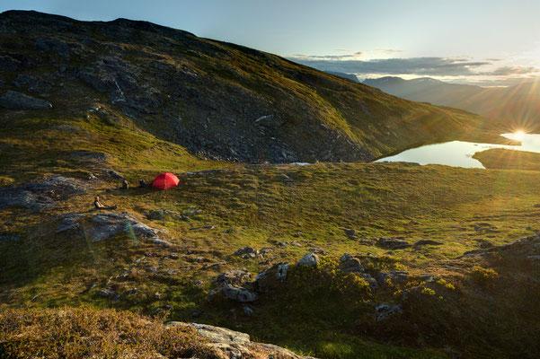 Camp auf  Riddabårre