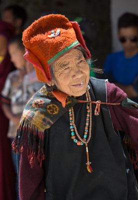 Gast beim Klosterfest Karsha