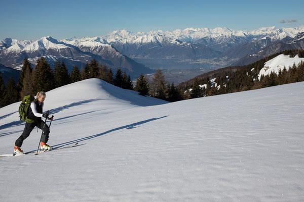 Alpe Pisciarotondo mit Lago Maggiore