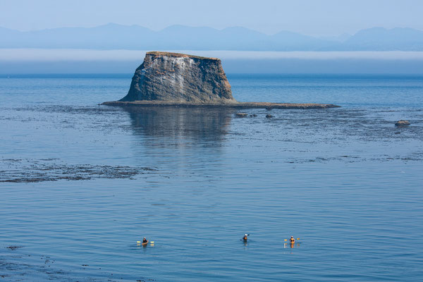 Seal Rock, Juan de Fuca Strait, USA