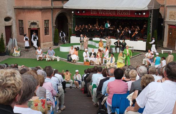 """""""Im Weißen Rössl""""  Thüringer Schlossfestspiele Sondershausen"""