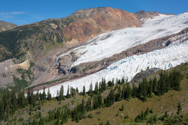 Mt Baker, Bastile Ridge, Roosevelt Glacier