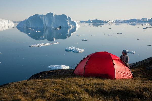 Kangia - Camp bei Ilulissat