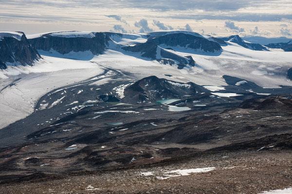 namenlos Berge vom Nagssuitsoq, Nussuaq