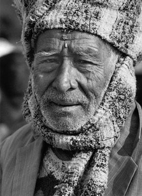 Bauer am Königspalast, Kathmandu, Nepal