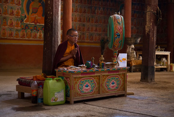 Leh, im Tempel Avalokiteshvara-Lhakhang
