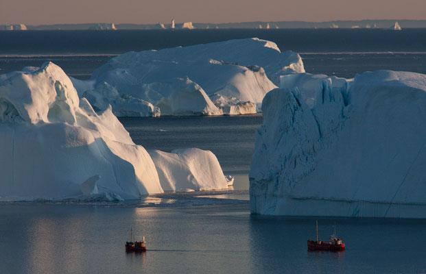 Kangia - Ilulissat-Eisfjord, Grönland