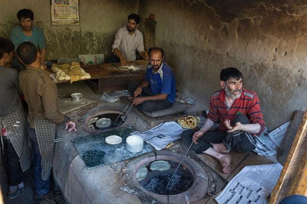 Bäckerei in Leh, Ladakh, Indien