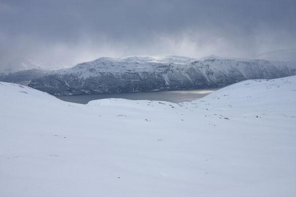 Loktosvárri, Lyngsfjellan, Troms, Norwegen