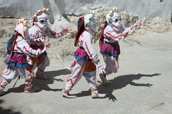 Kinderballett beim Klosterfest Karsha