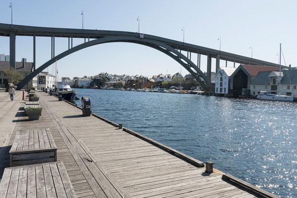 Salhusstraumen, Haugesund