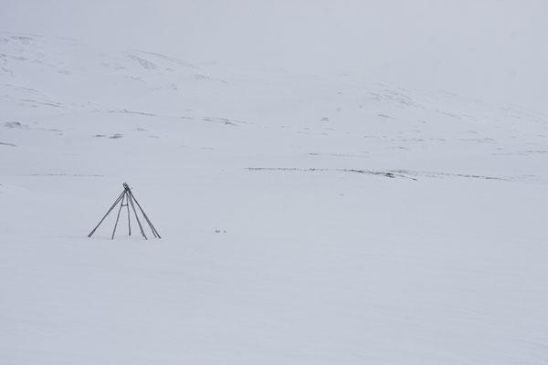 Kinderzelt, Gahperusvággi, Nordreisa, Troms, Norwegen