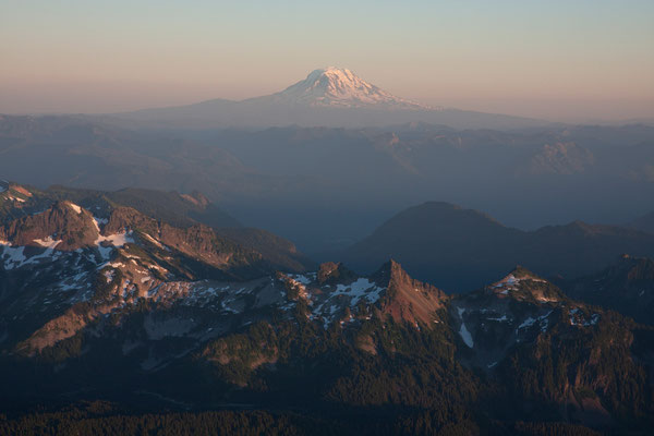 Mt Adams, Tatoosh Range from the Turtle
