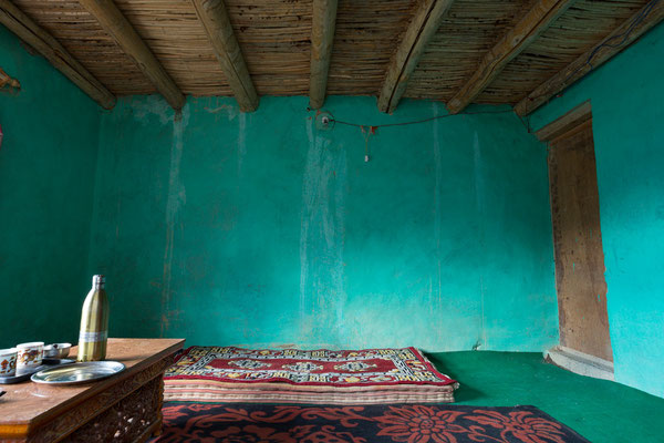 Char-Char-La Guesthouse, Pidmo, Zanskar, Indien