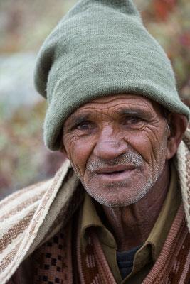 Der Hirte von Gumba, Miyar, Indien