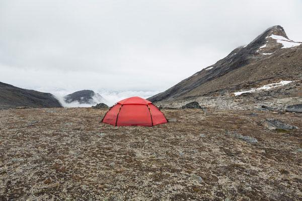Camp zwischen Ameralik und Nuuk, (West-)Grönland