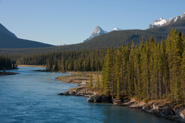 North-Saskatchewan-River, Banff-NP, Kanada