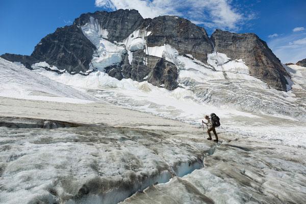 Siva Glacier, Mt Vishnu