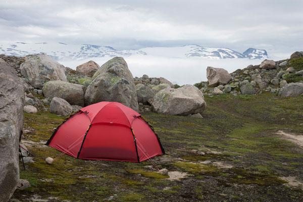 Camp am Steintinden