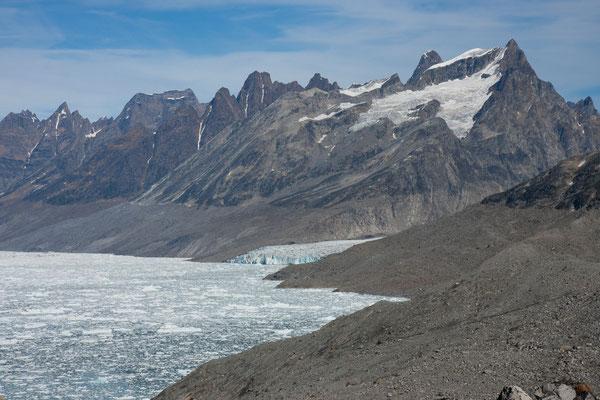 Ningerti, 16. September Gletscher