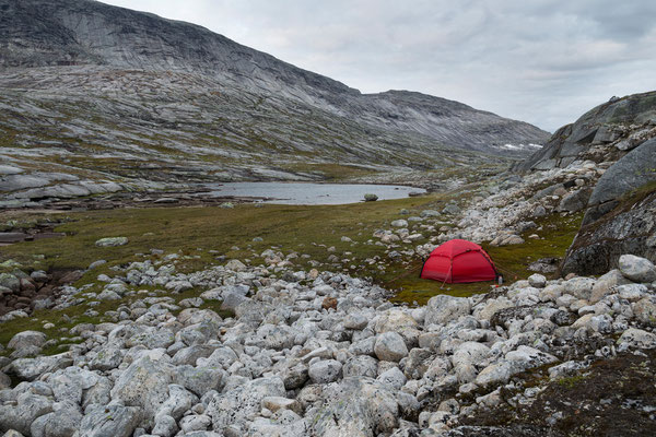Tjoaddnejavrre (Langvatnet), Nordland, Norwegen