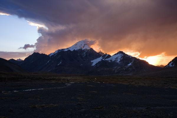 Auzangate, Cordillera Vilcanota, Peru
