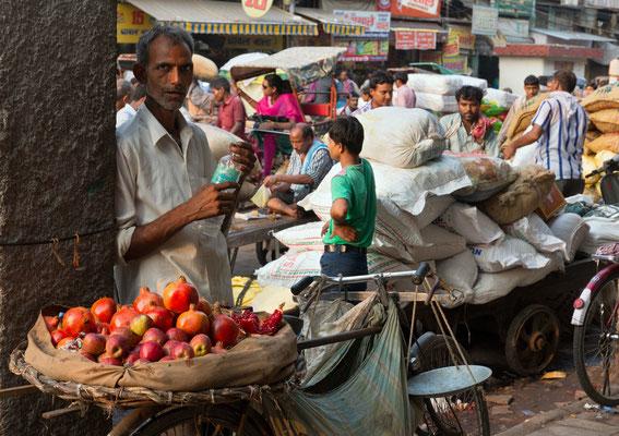 Händler, Delhi, Indien