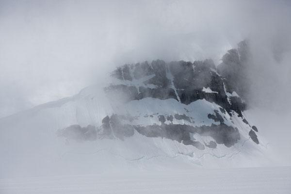 Christian Peak 1, Lyell Icefield, Rocky Mountains, Alberta, Kanada