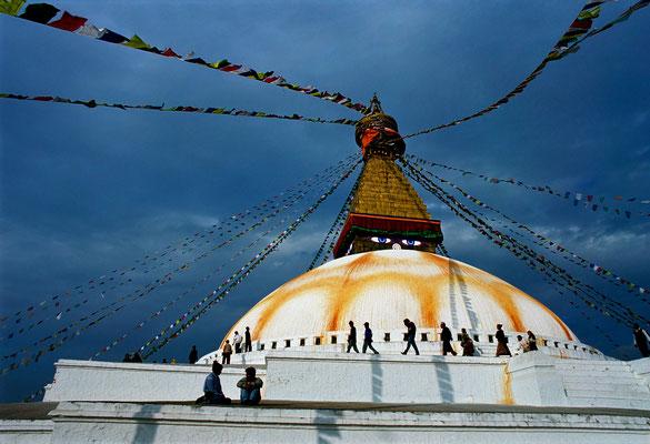 Bodnath-Stupa, Kathmandu
