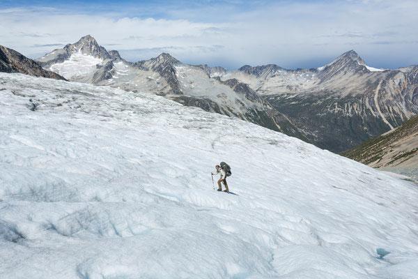 Siva Glacier, Mt Astarte, Hermes Peak