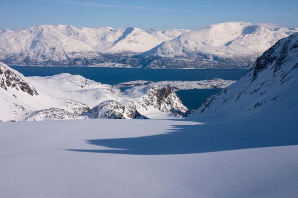 Koppangsbreen, Lyngenfjord, Kafjordalpen
