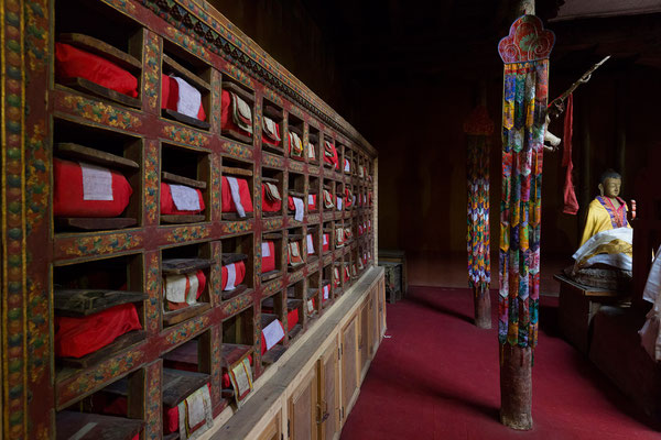 Leh, Gebetsraum im Palast