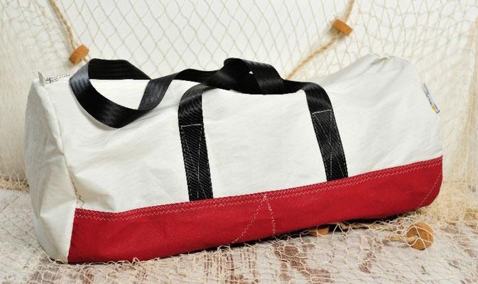 Tasche aus Segeltuch sailart fashion - Segeltuchmode aus Heppenheim