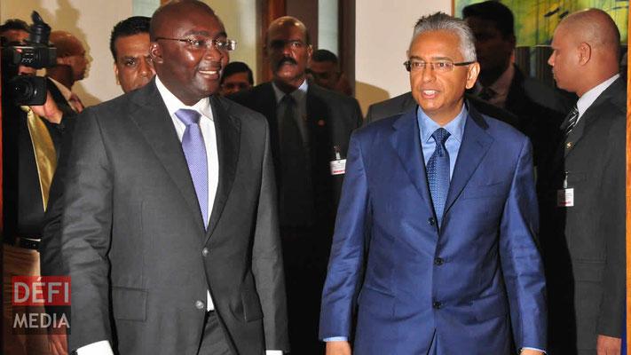 signature d'un accord entre l'île Maurice et le Ghana, accord de promotion et de protection des investissements ( IPPA's) entre l'île Maurice et le Ghana, smart city dans la capitale Accra au Ghana