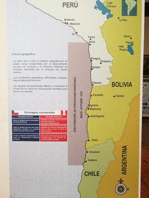 Ich wusste ja, dass Bolivien mal einen Meerzugang hatte, aber das dieser so aussah, wusste ich nicht! Spannend, oder?