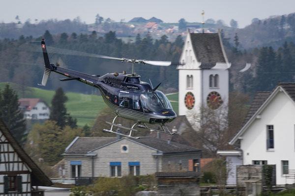 Elite Flights, HB-XXO, Bell 206 Jet Ranger, Hochzeitsflug