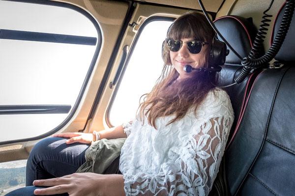 Elite Flights,  Rundflugtage wyga 2017, Wynau, Happy passenger