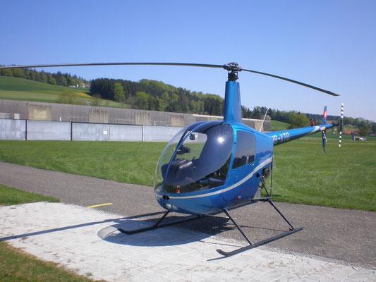 Elite Flights, HB-XTQ, Robinson R22, Schnupperflug, Beromünster,  selbst Helikopter fliegen, selber Helikopter fliegen