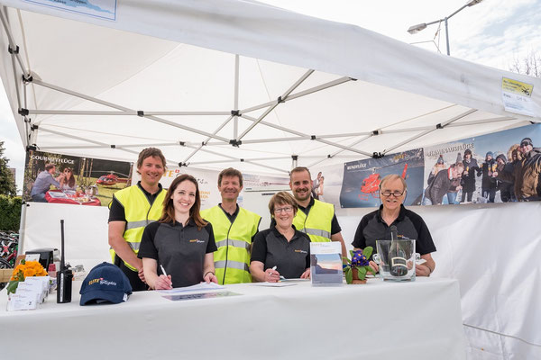 Elite Flights,  Rundflugtage Wängi-Aktiv 2018,  Team