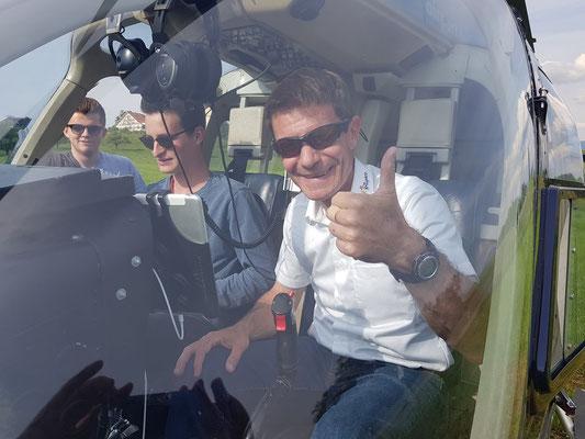 Elite Flights, Bell 206 Jet Ranger, HB-XXO, Schnupperflug, Helikopterflug, selbst Helikopter fliegen, selber Helikopter fliegen