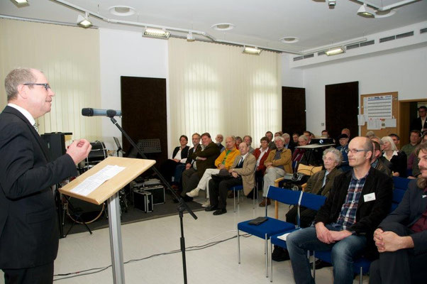 Grußworte durch Landrat Manfred Müller